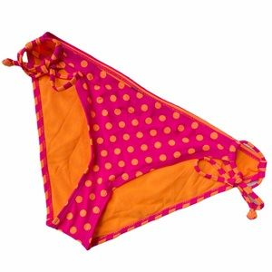 3/$25Joe Boxer Pink Orange Polka Dot Stripe Bottom